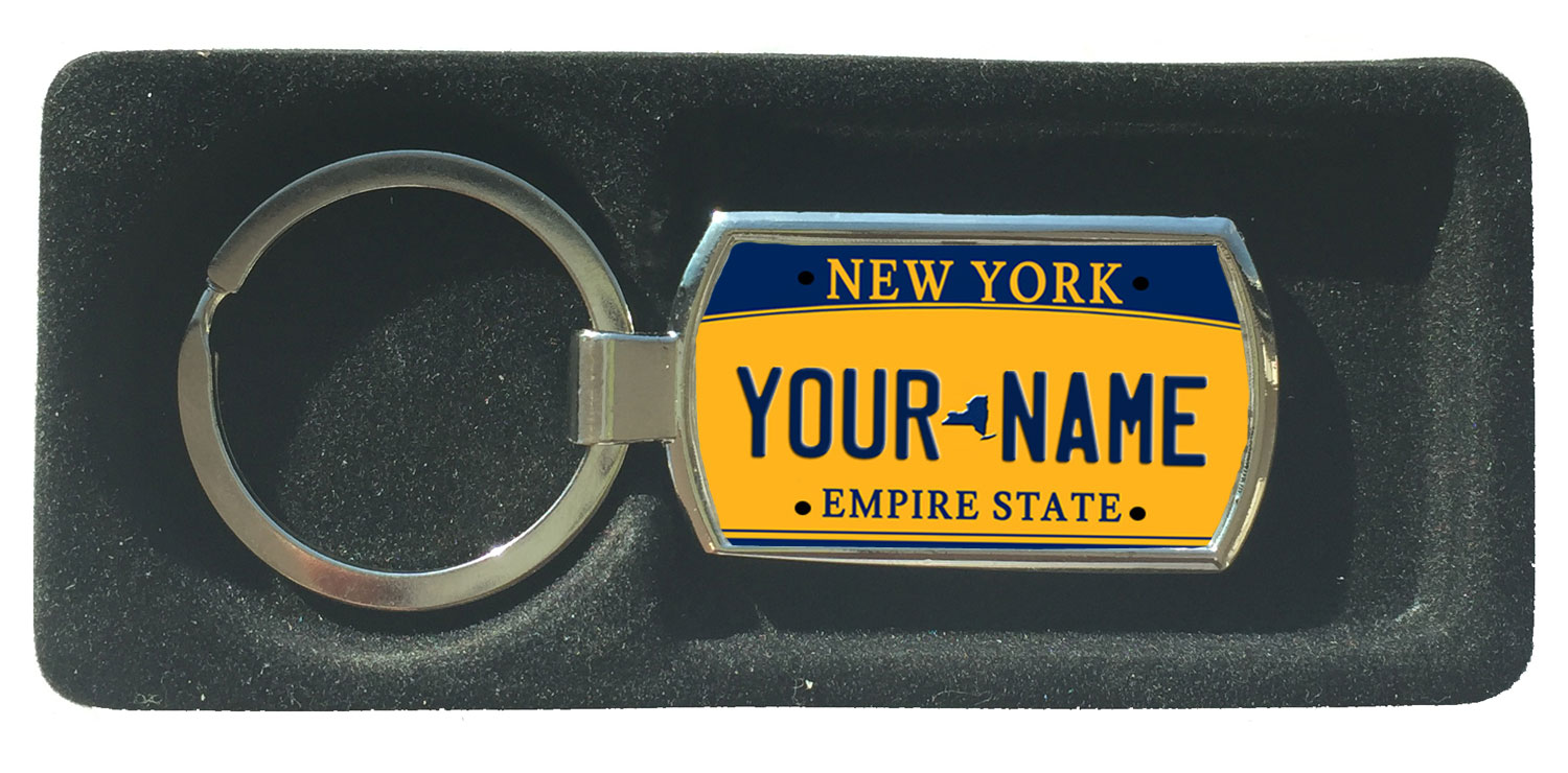 Personalized Custom Name New York State License Plate